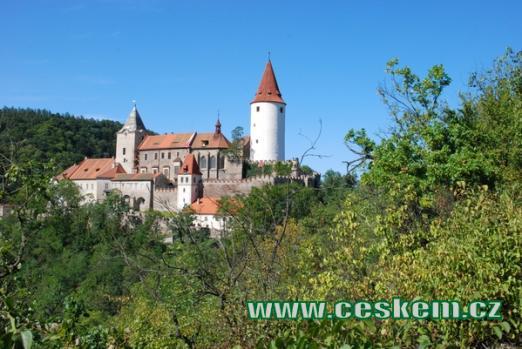 Jeden z našich nejznámějších gotických hradů.