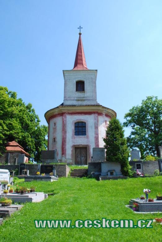 Kostel sv. Gotharda.