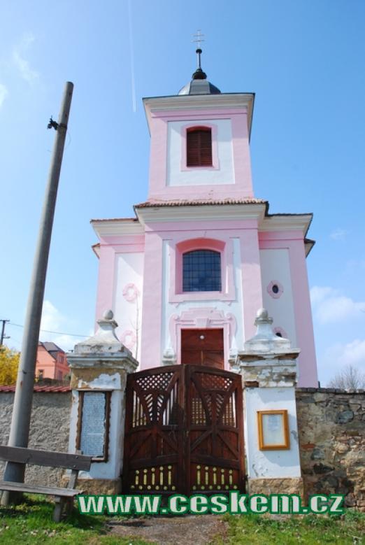 Barokní kostel sv. Jakuba.