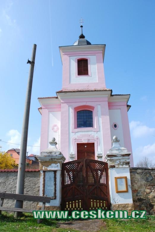 Barokní kostel svatého Jakuba.
