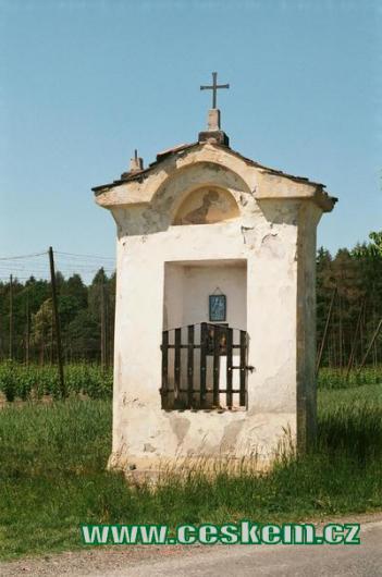 Kaplička ve směru na Srbeč.