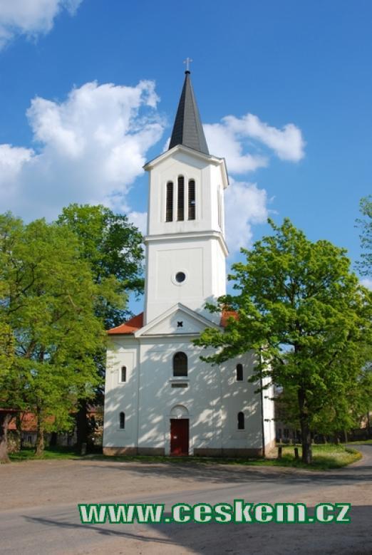 Kostel svatého Václava.