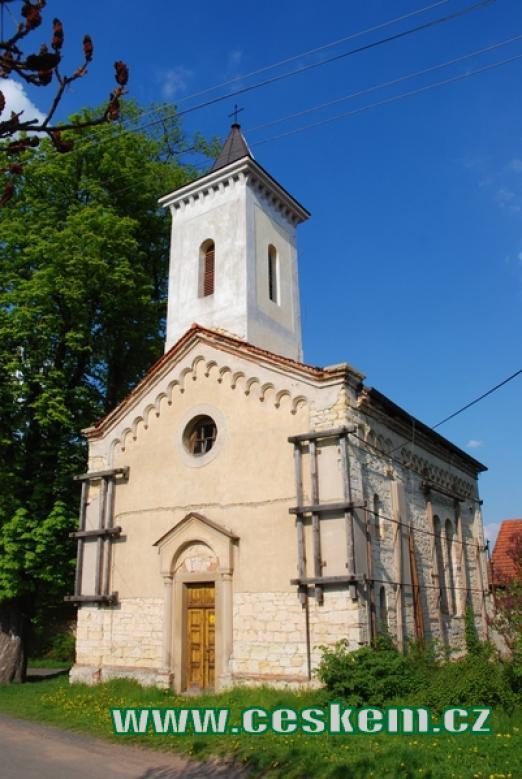 Kostelík sv. Prokopa.