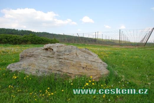 Čertův kámen opředený řadou pověstí.