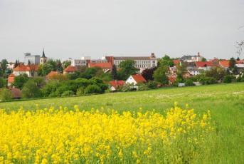 Nové Strašecí - Pohled na město...