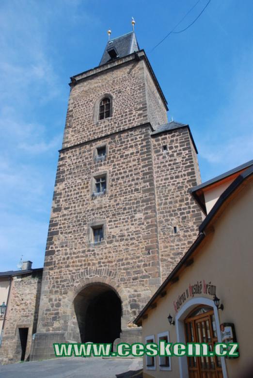 Vysoká brána z let 1519-1524.