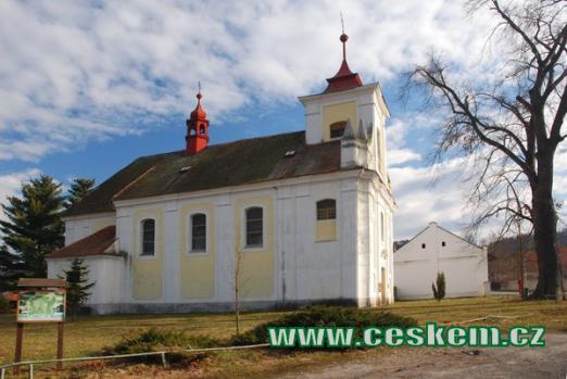 Kostel Archanděla Michaela.