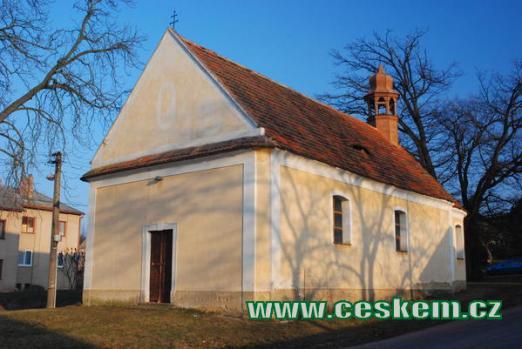Kostel sv.Jana Nepomuckého.