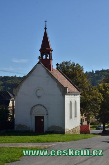 Kaple sv. Vojtěcha.