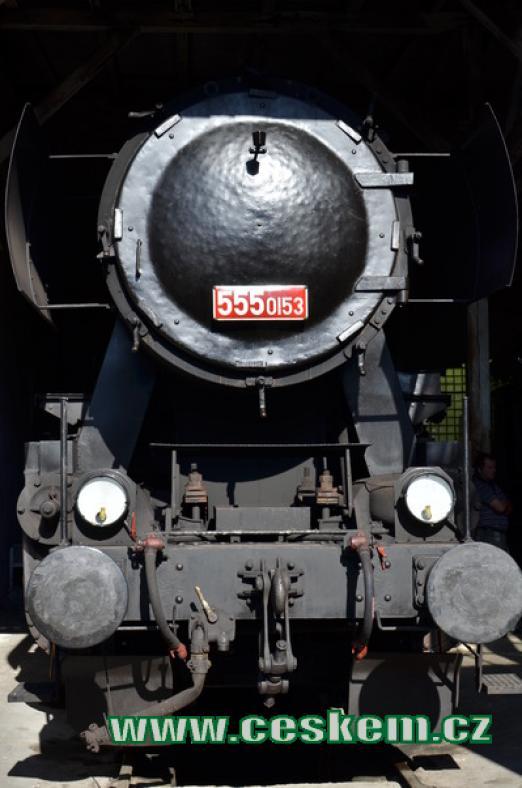 Parní lokomotiva řady 555.