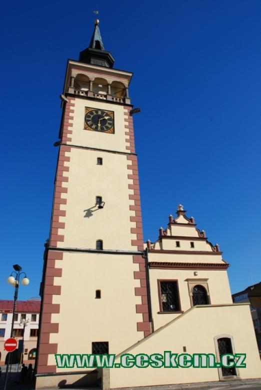 Radnice z druhé poloviny 16. století.