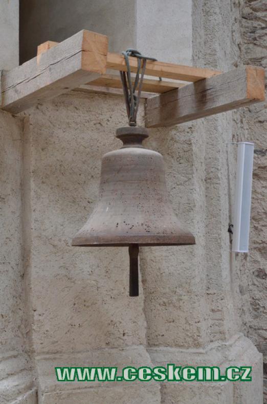 Detail zvonu.