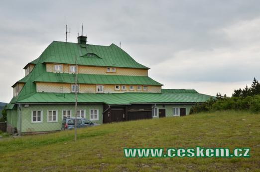 Legendární Masarykova chata.