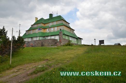 Masarykova chata z roku 1925.