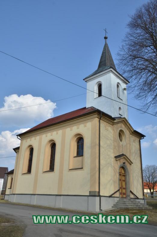 Kostel sv. Václava.