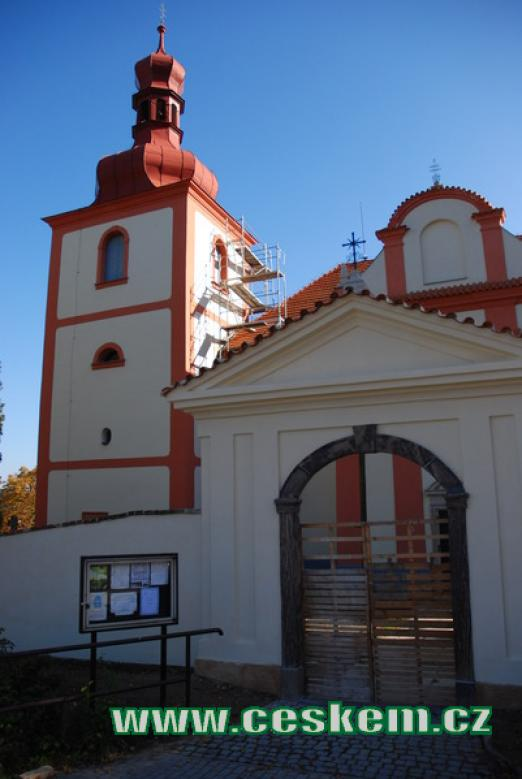 Kostel svatého Mikuláše.