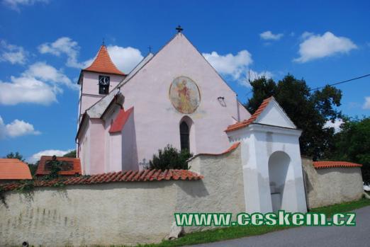 Kostel sv. Jakuba z roku 1352.