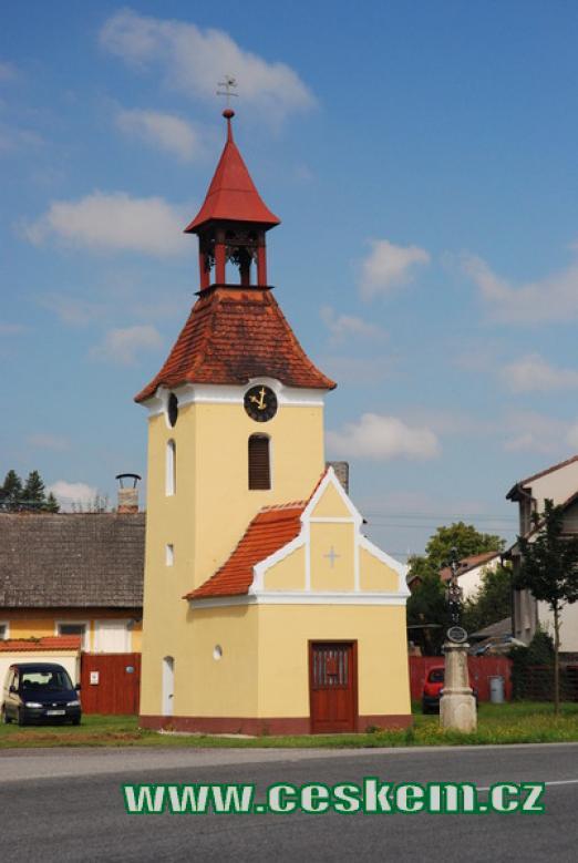 Kaple z roku 1840.