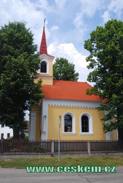 Kaplička sv. Anny.