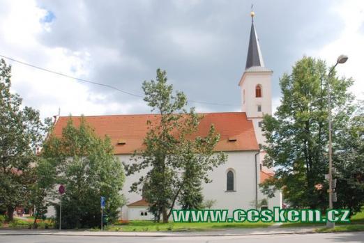 Kostel sv. Markéty ve Strakonicích.