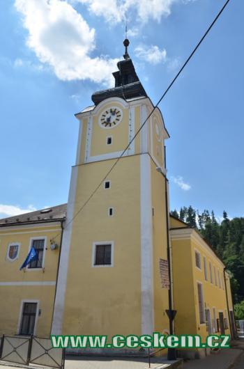 Radniční věž.
