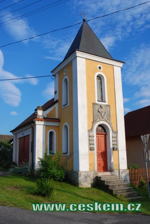 Kaplička zvaná Kotrbova.