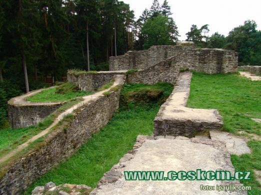 Nejpamátnější hrad Táborska.