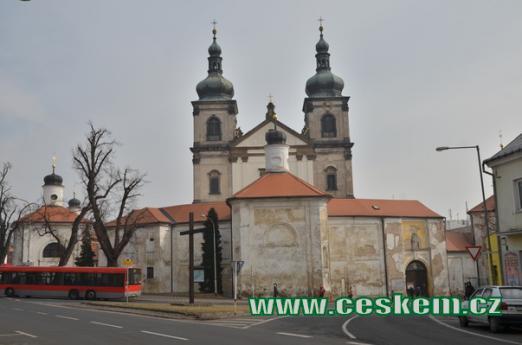 Bazilika Panny Marie Sedmibolestné.